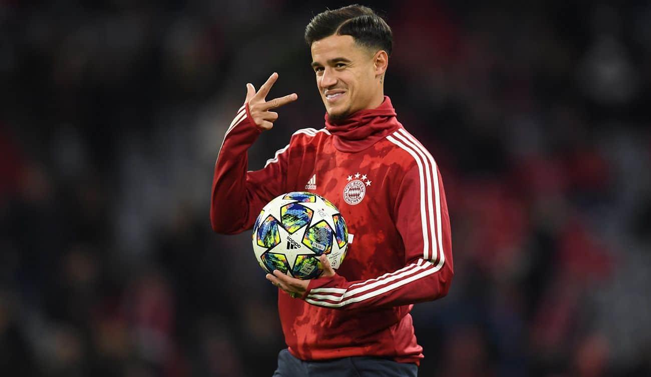 Coutinho del Bayern Monaco