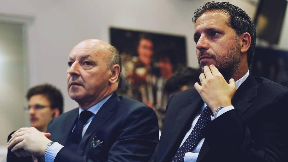 Fabio Paratici e Beppe Marotta ( Juventus e Inter)