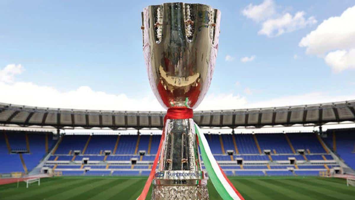 Supercoppa Italiana che si contenderanno Napoli e Juventus il 20 gennaio