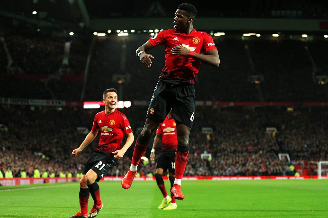 Paul Pogba del Manchester United