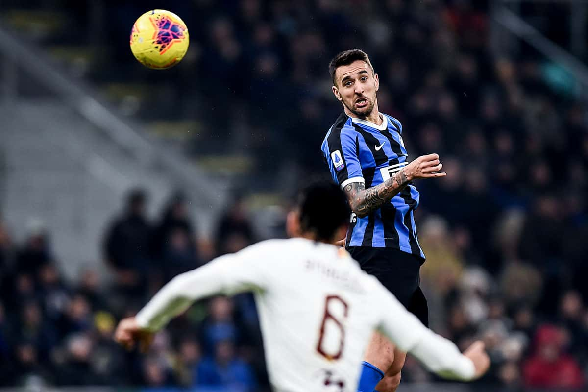 Matias Vecino, centrocampista dell'Inter