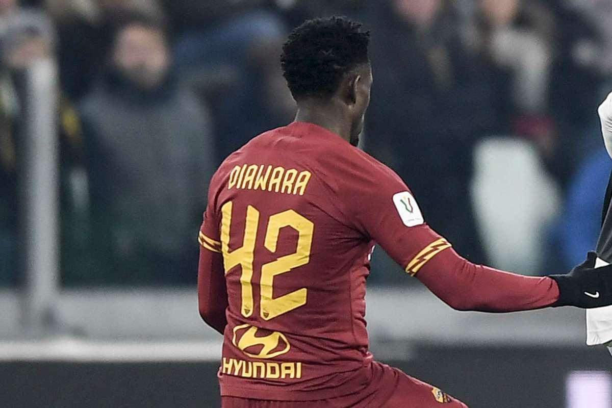 Diawara, centrocampista della Roma