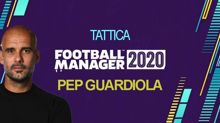 Tattica Pep Guardiola