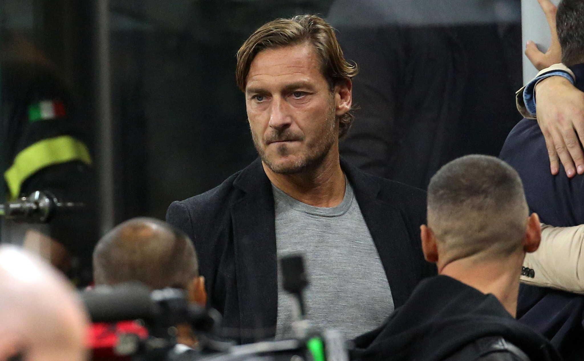 Francesco Totti, ex capitano della Roma