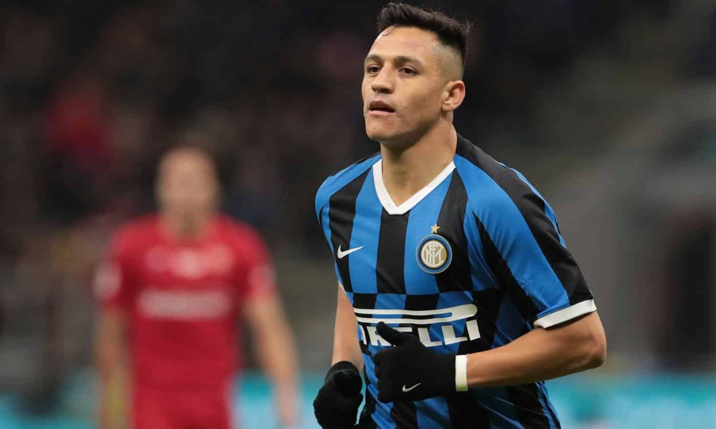 Alexis Sanchez, attaccante dell'Inter
