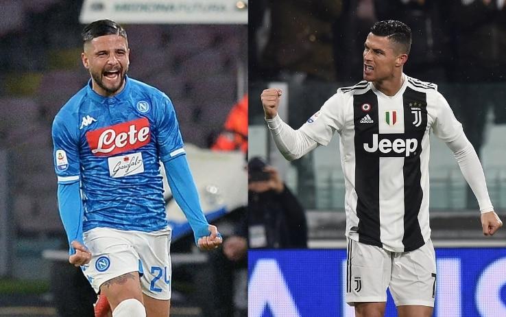 Insigne e Ronaldo, sfida da Champions League
