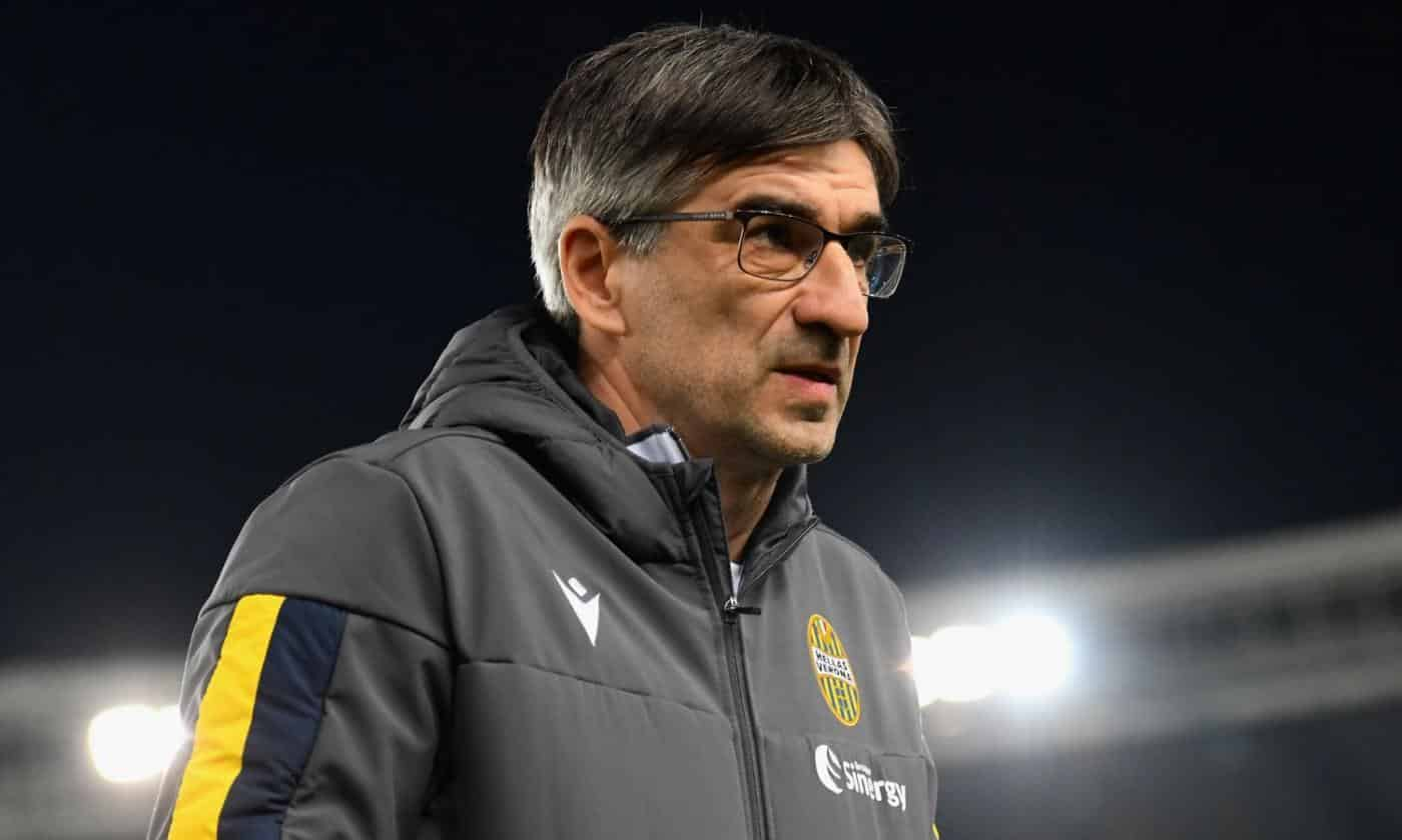 Ivan Juric, allenatore dell'Hellas Verona