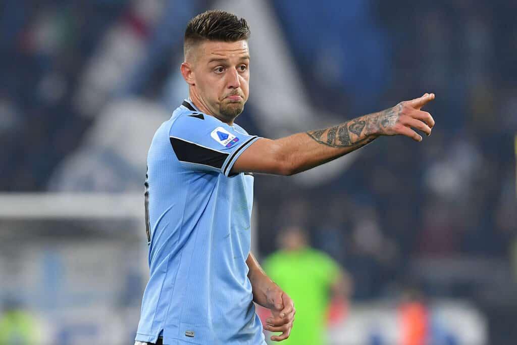 """Lazio, la Premier chiama Milinkovic: tre top club sul """"Sergente"""""""