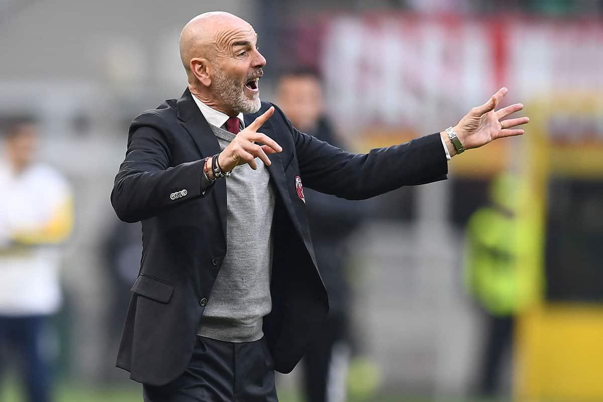 Stefano Pioli, tecnico del Milan