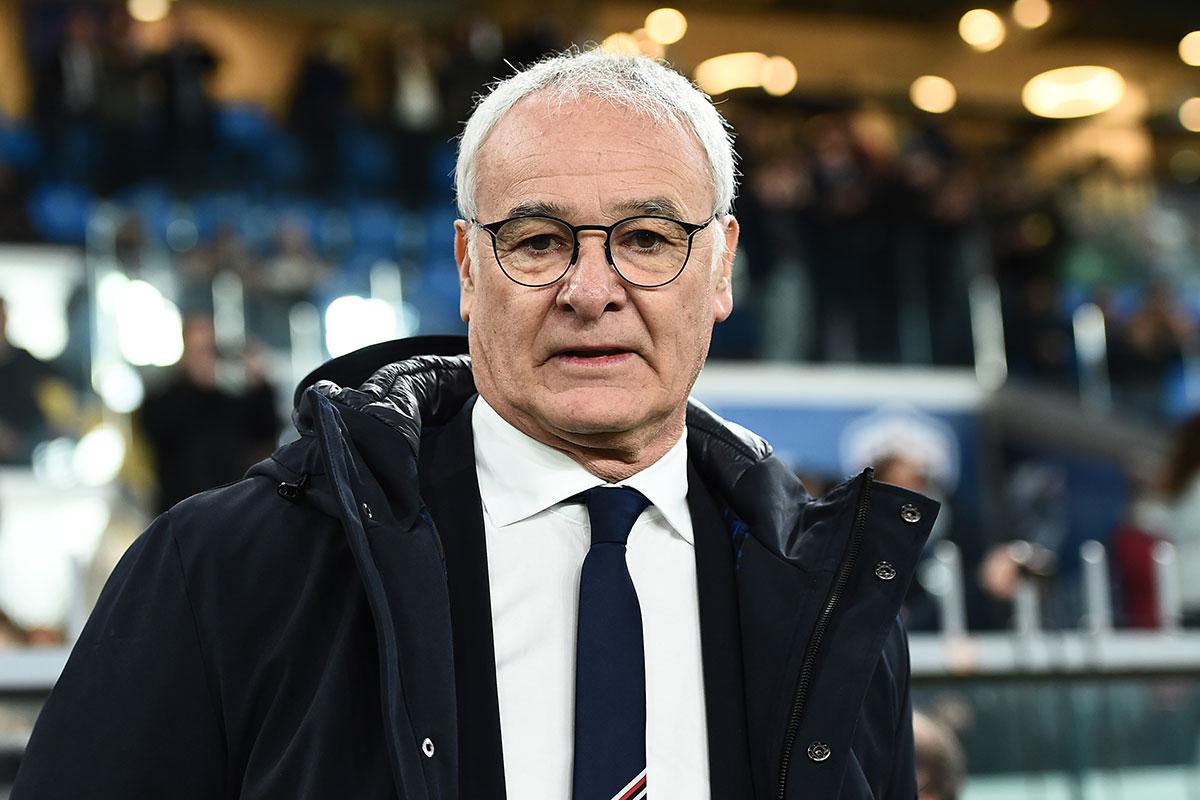 Claudio Ranieri, tecnico della Sampdoria