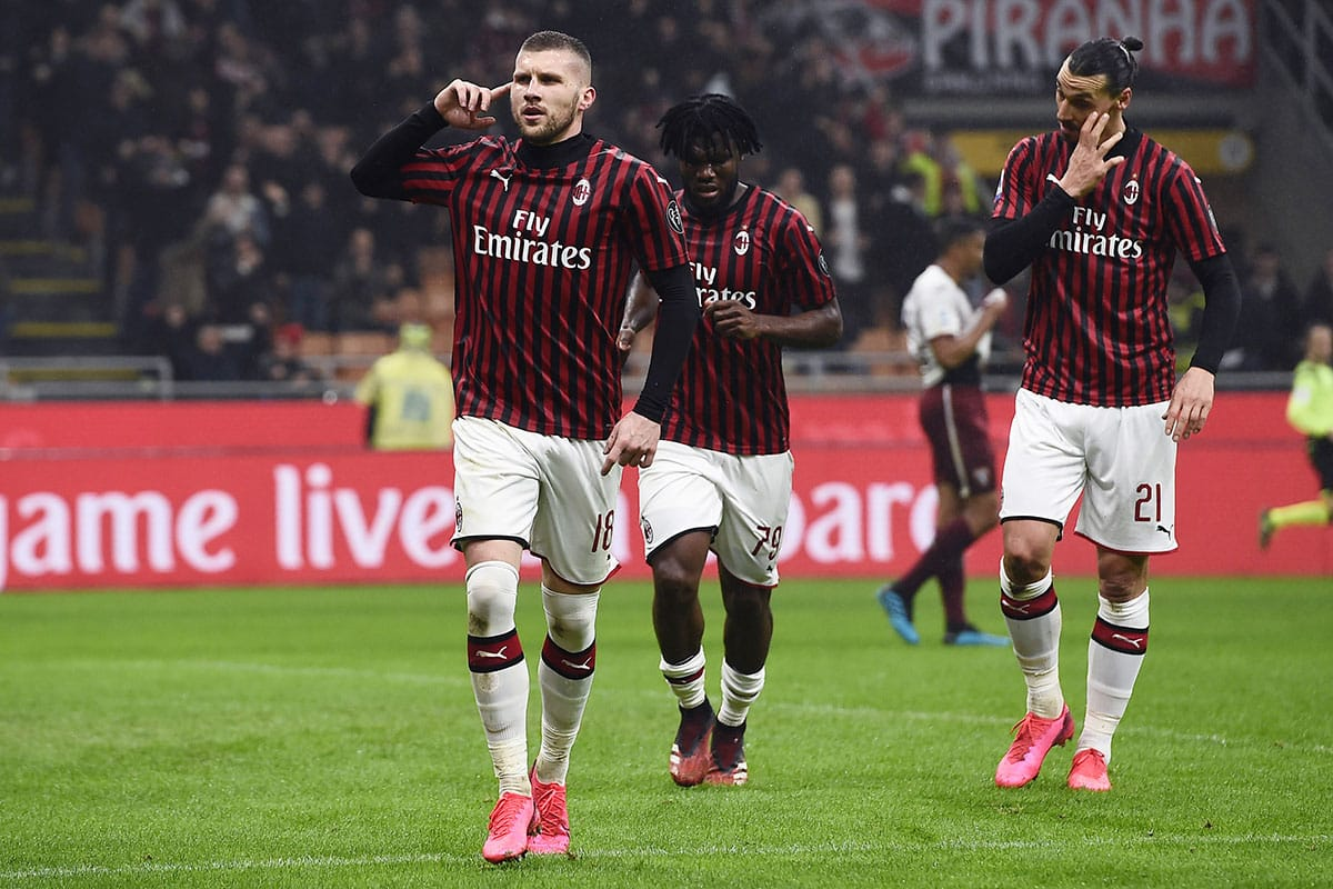 Milan, Rebic cuore rossonero: