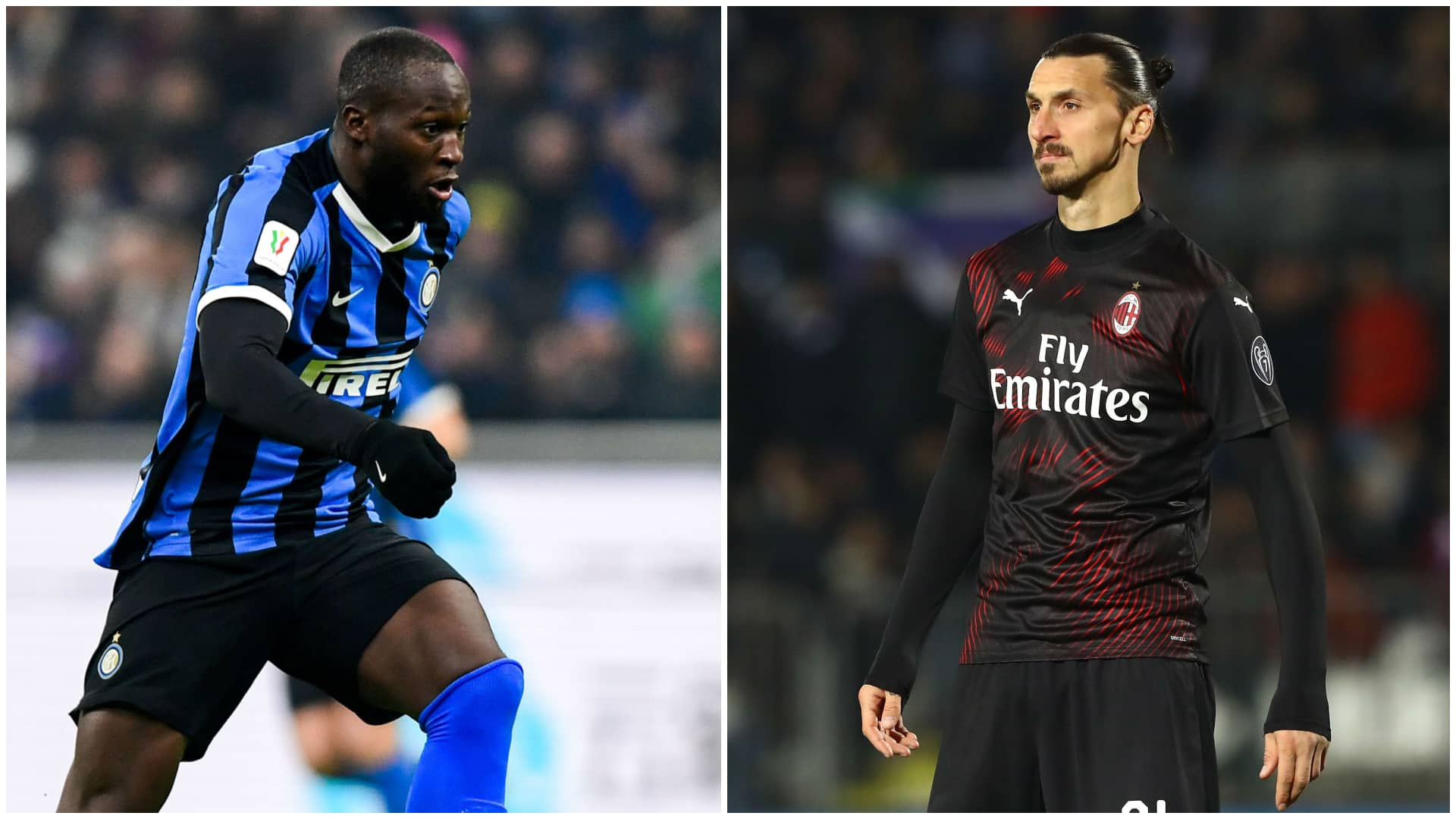 Inter Milan, Lukaku vs Ibrahimovic