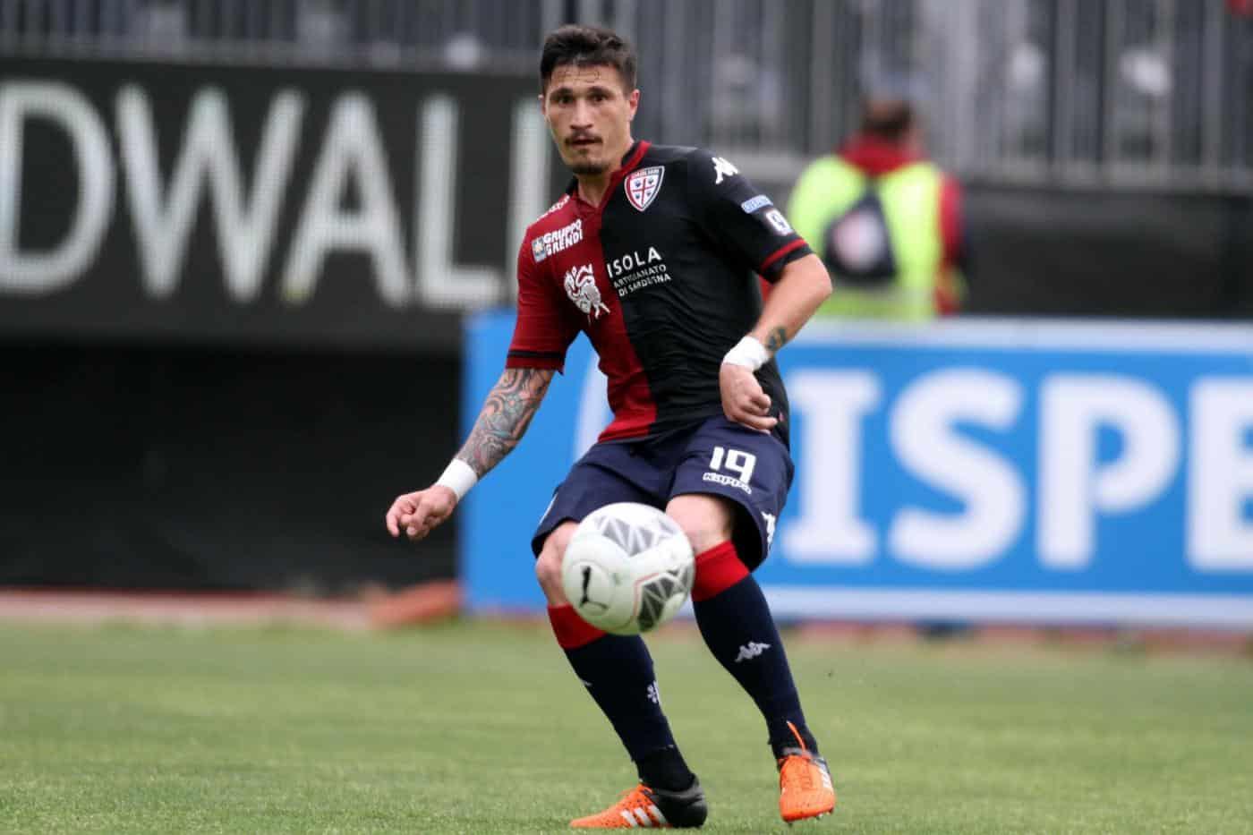 Fabio Pisacane, giocatore del Cagliari