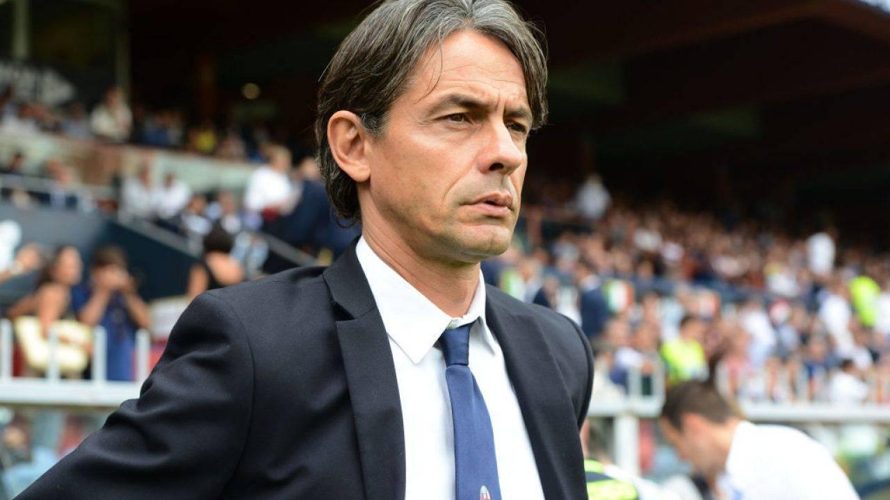 Filippo Inzaghi, allenatore del Benevento