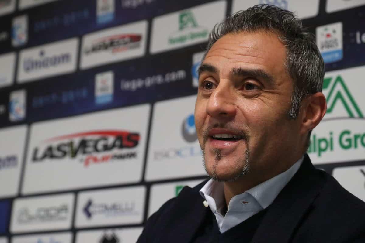 Domenico Toscano, allenatore della Reggina
