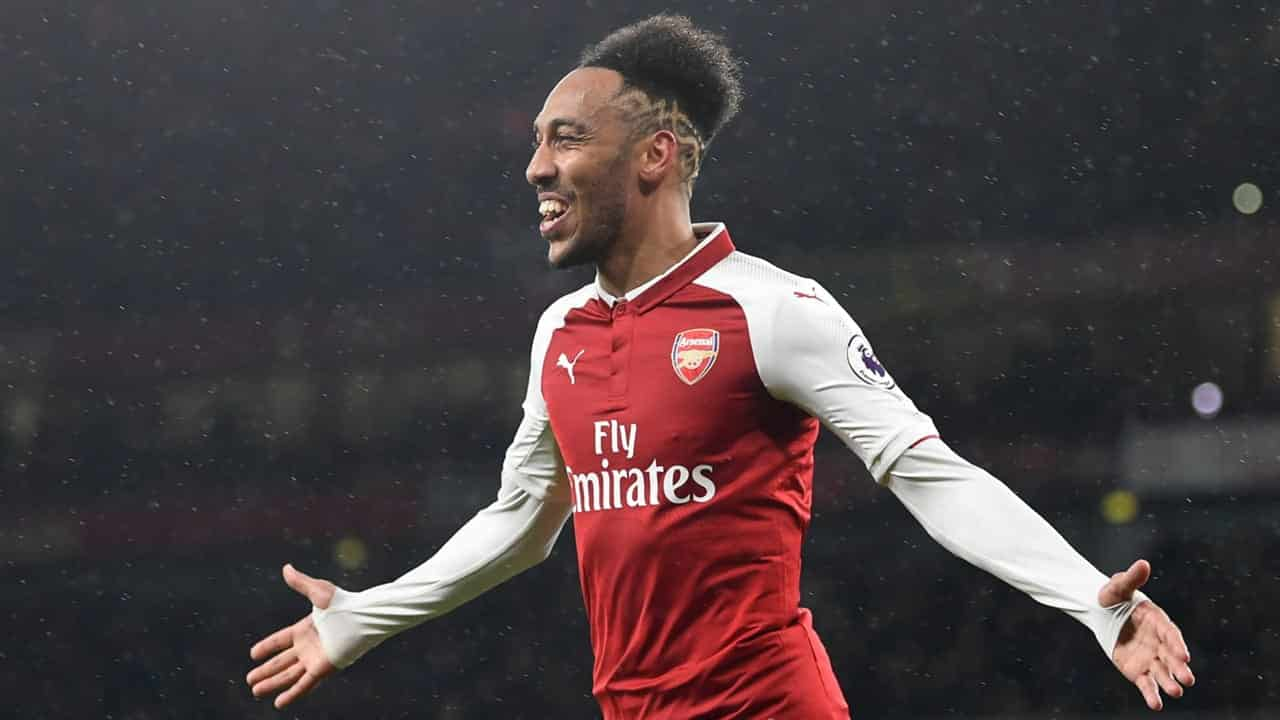 Aubameyang, attaccante dell'Arsenal