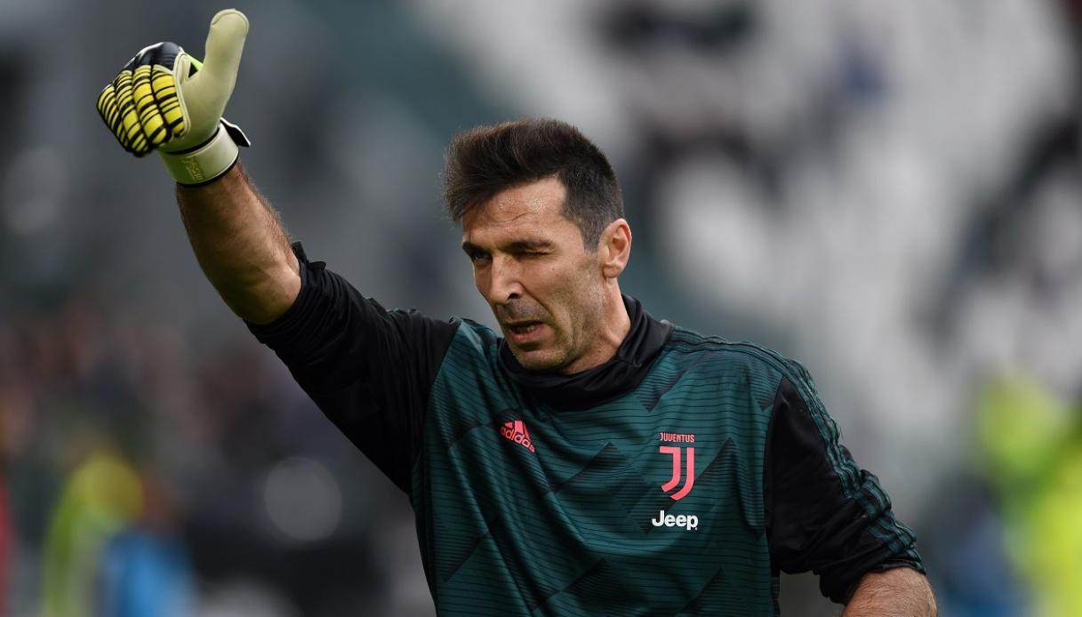 Gigi Buffon portiere della Juventus