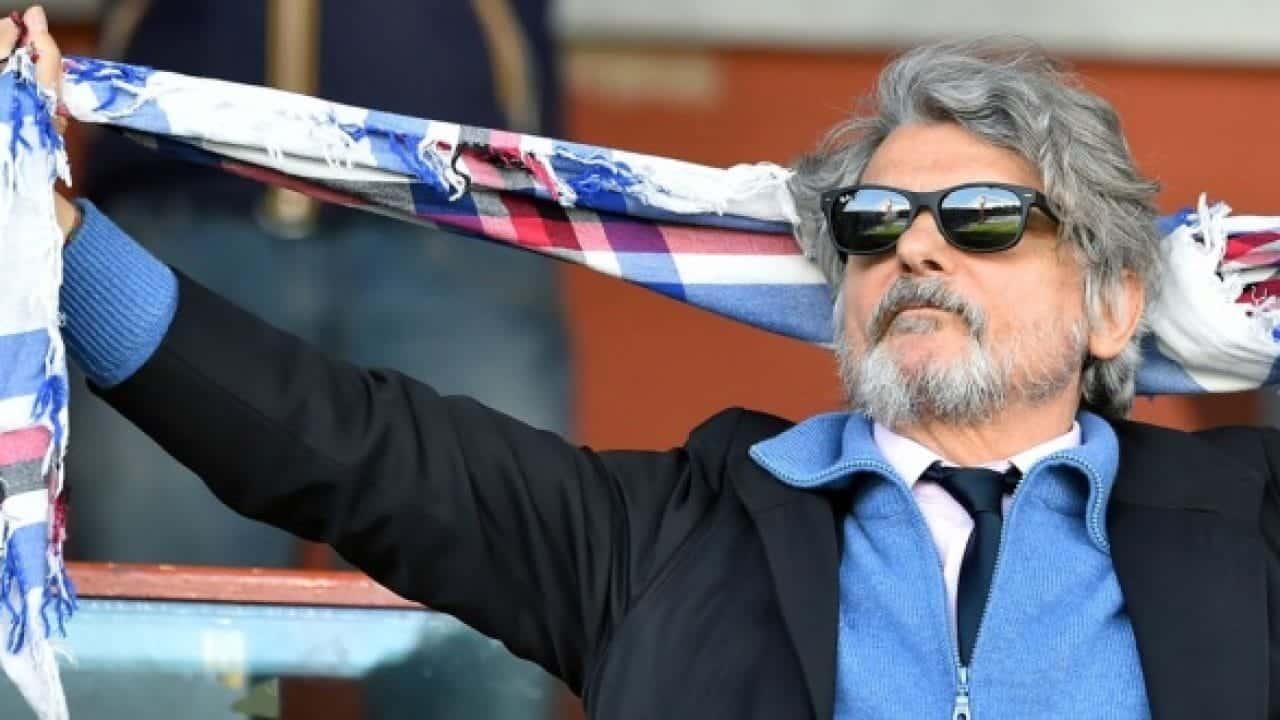 Sampdoria, Ferrero sul campionato: