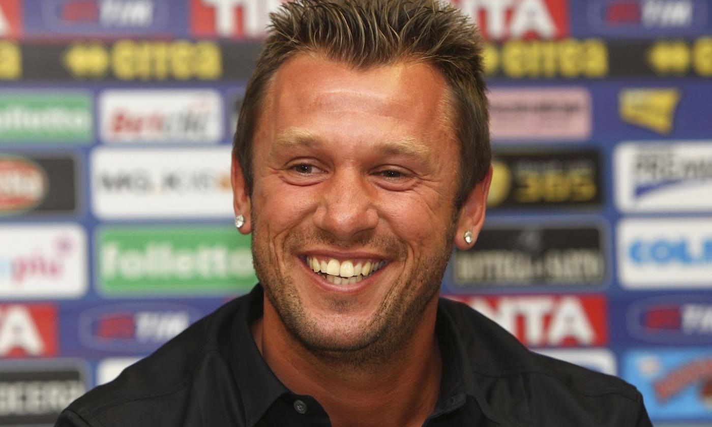 Antonio Cassano, ex giocatore dell'Inter