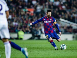 Leo Messi, campione del Barcellona