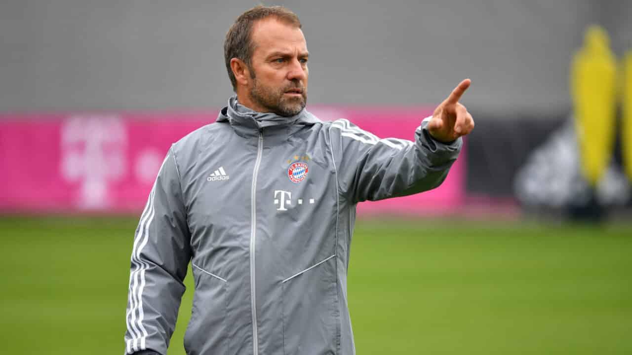 Hans-Dieter Flick allenatore del Bayern Monaco