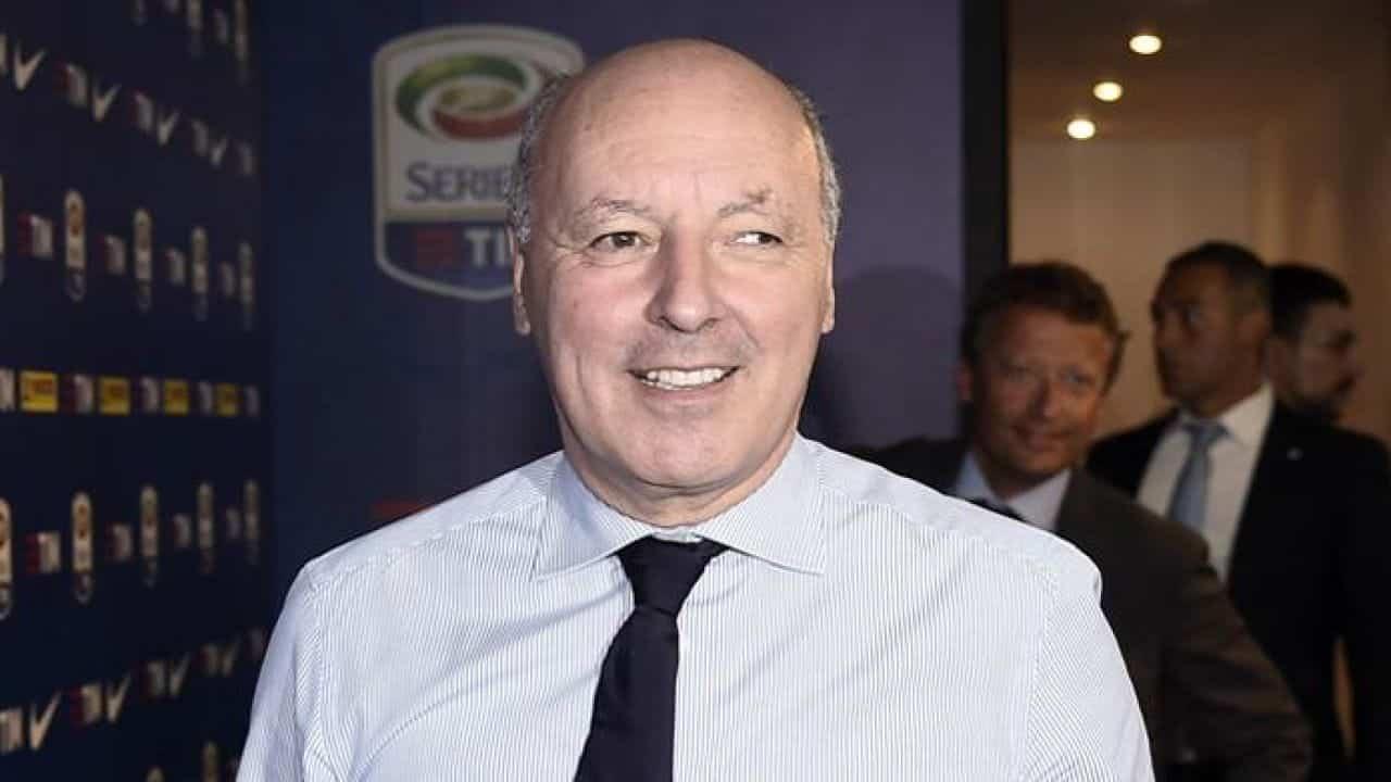 Beppe Marotta, amministratore delegato dell'Inter