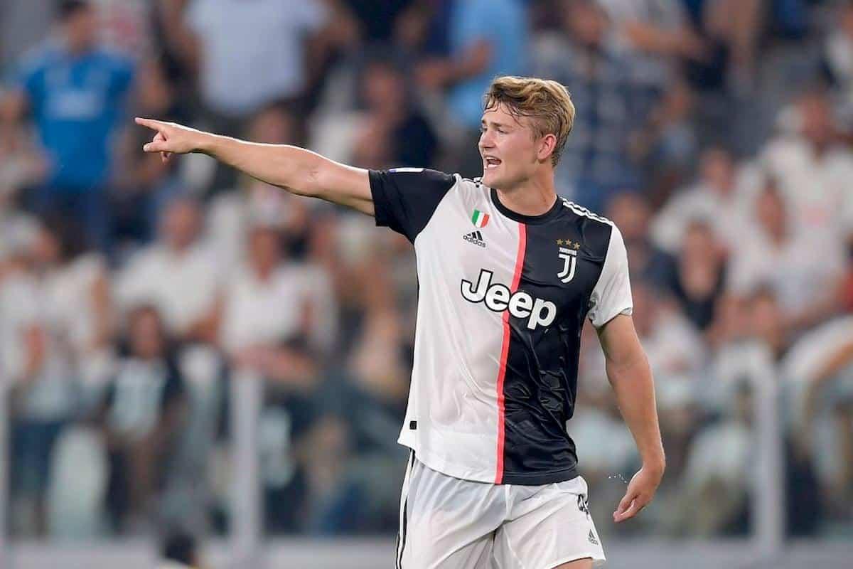 Matthijs De Ligt, difensore della Juventus