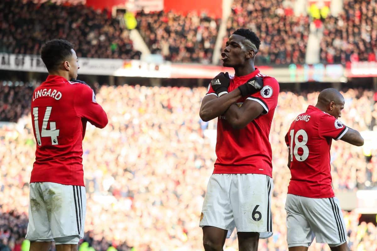 Paul Pogba centrocampista del Manchester United