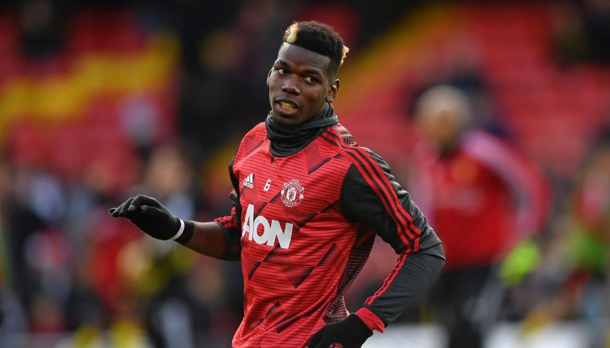 Pogba giocatore del Manchester United