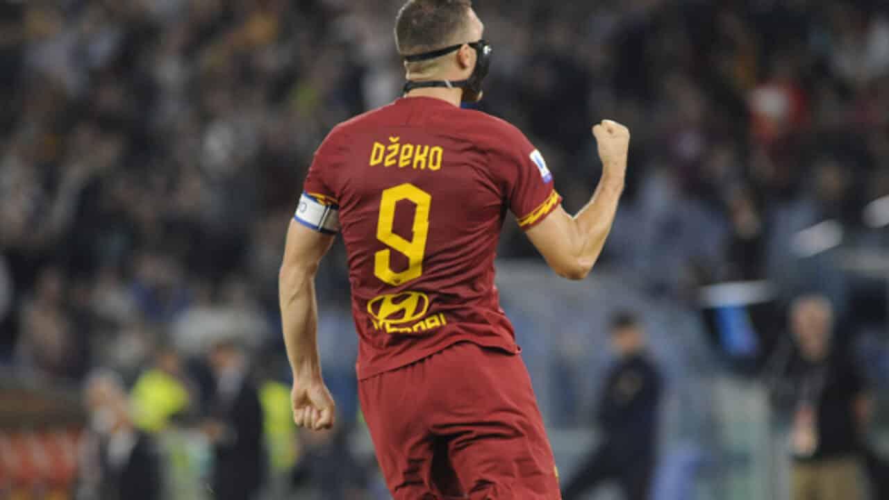 Dzeko, ex attaccante della Roma