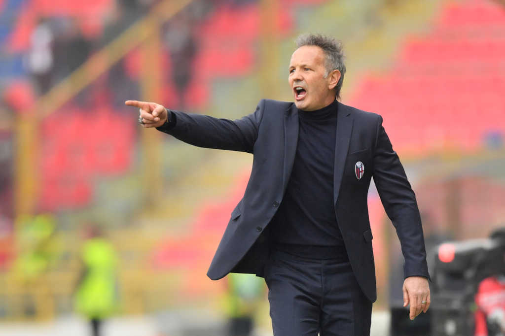 Sinisa Mihajlovic, allenatore del Bologna