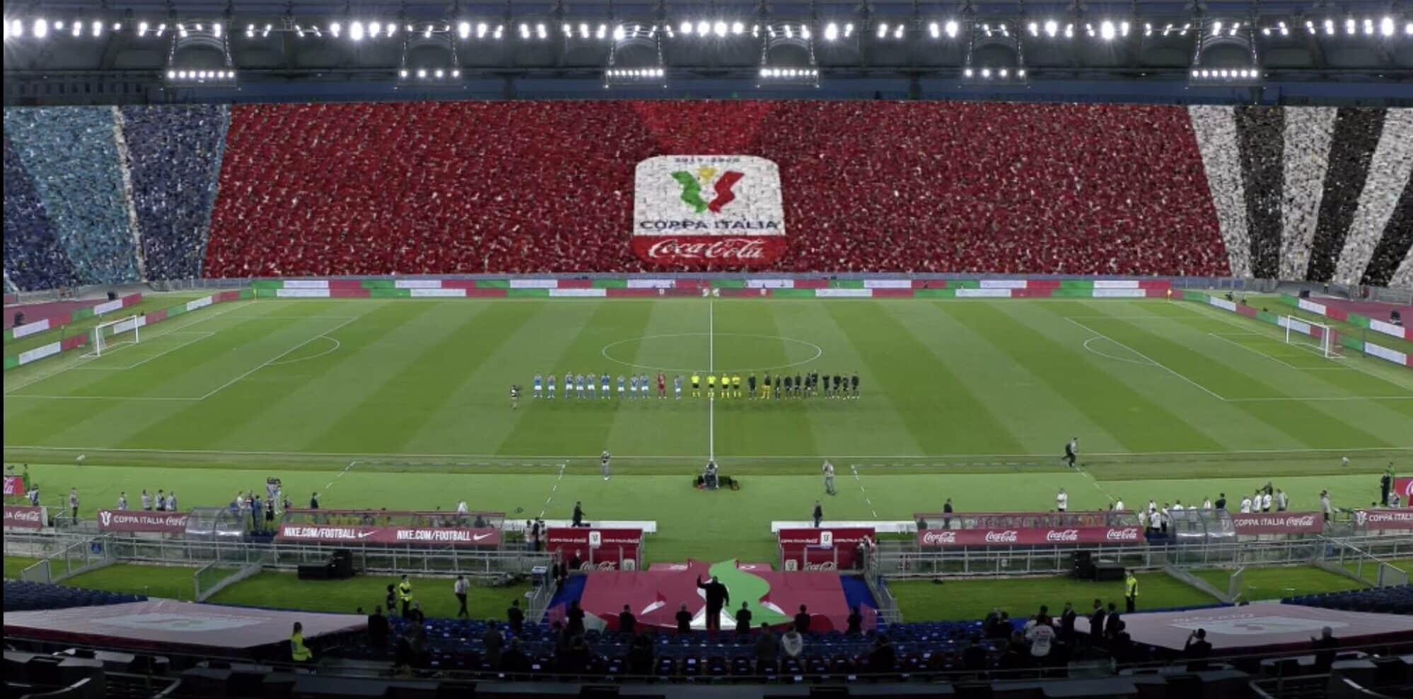 Coppa Italia: Tifo Virtuale
