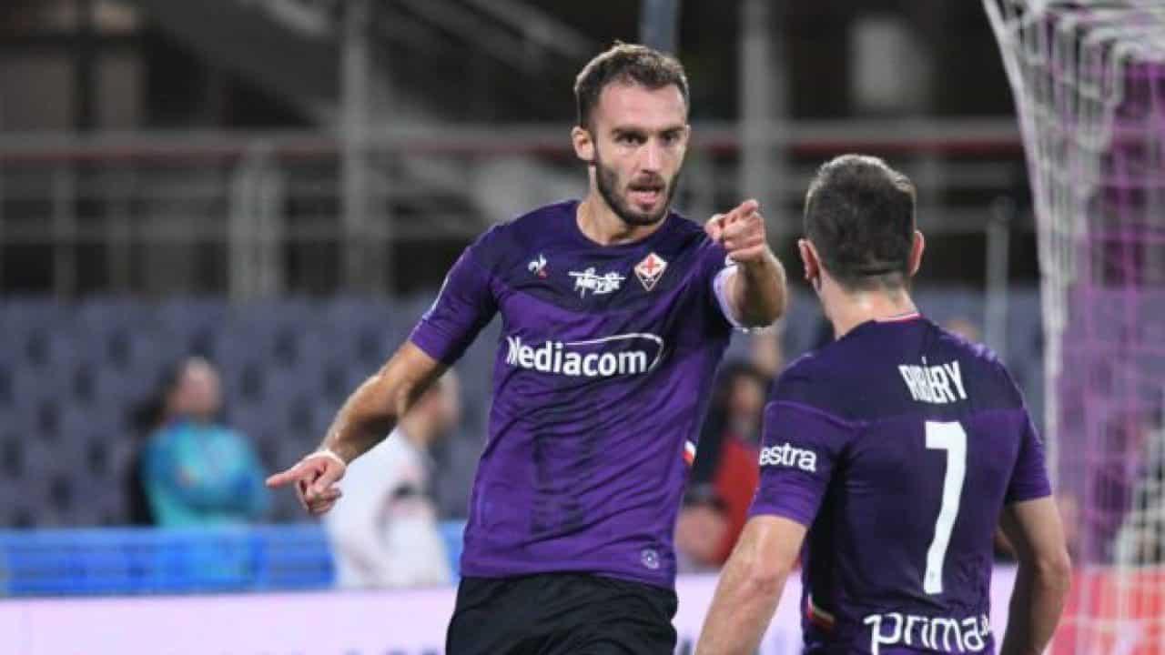 German Pezzella, difensore della Fiorentina