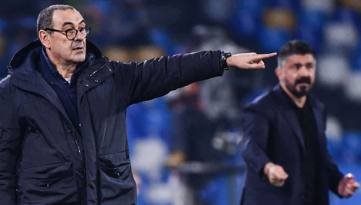 Maurizio Sarri e Gennaro Gattuso