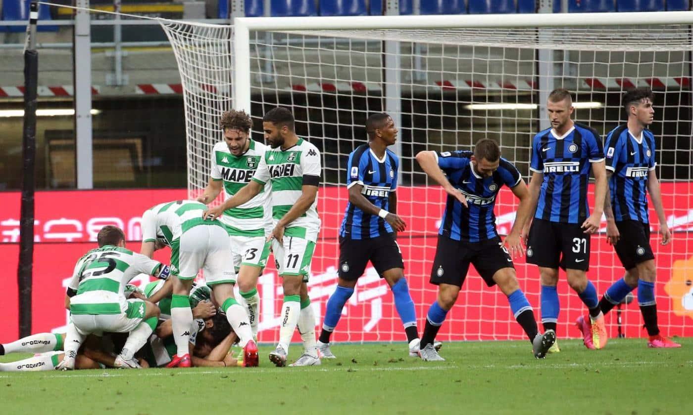 Inter-Sassuolo, le riserve tradiscono Conte: male Ranocchia e Gagliardini