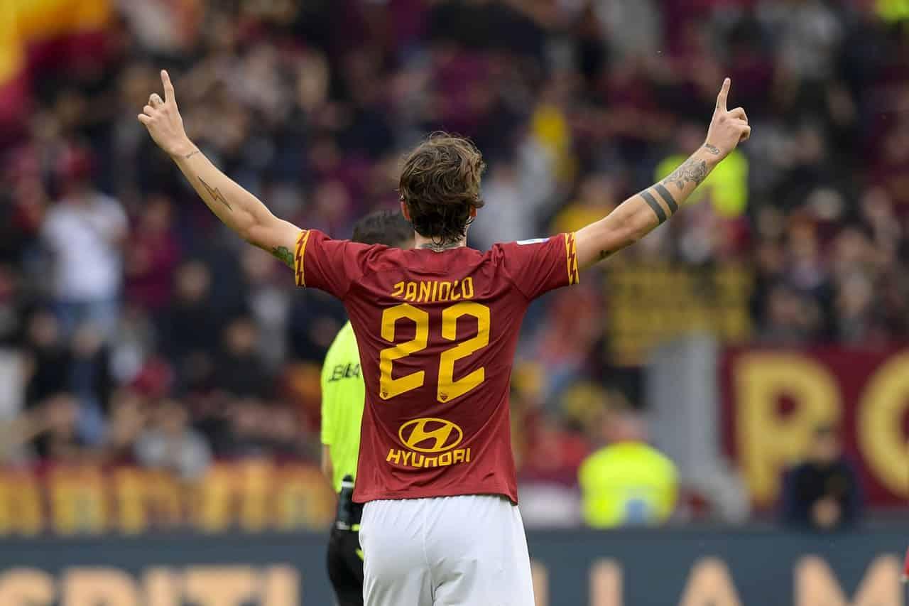 Nicolò Zaniolo, centrocampista della Roma