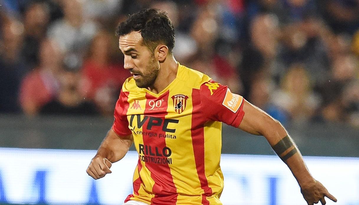 Marco Sau, attaccante del Benevento