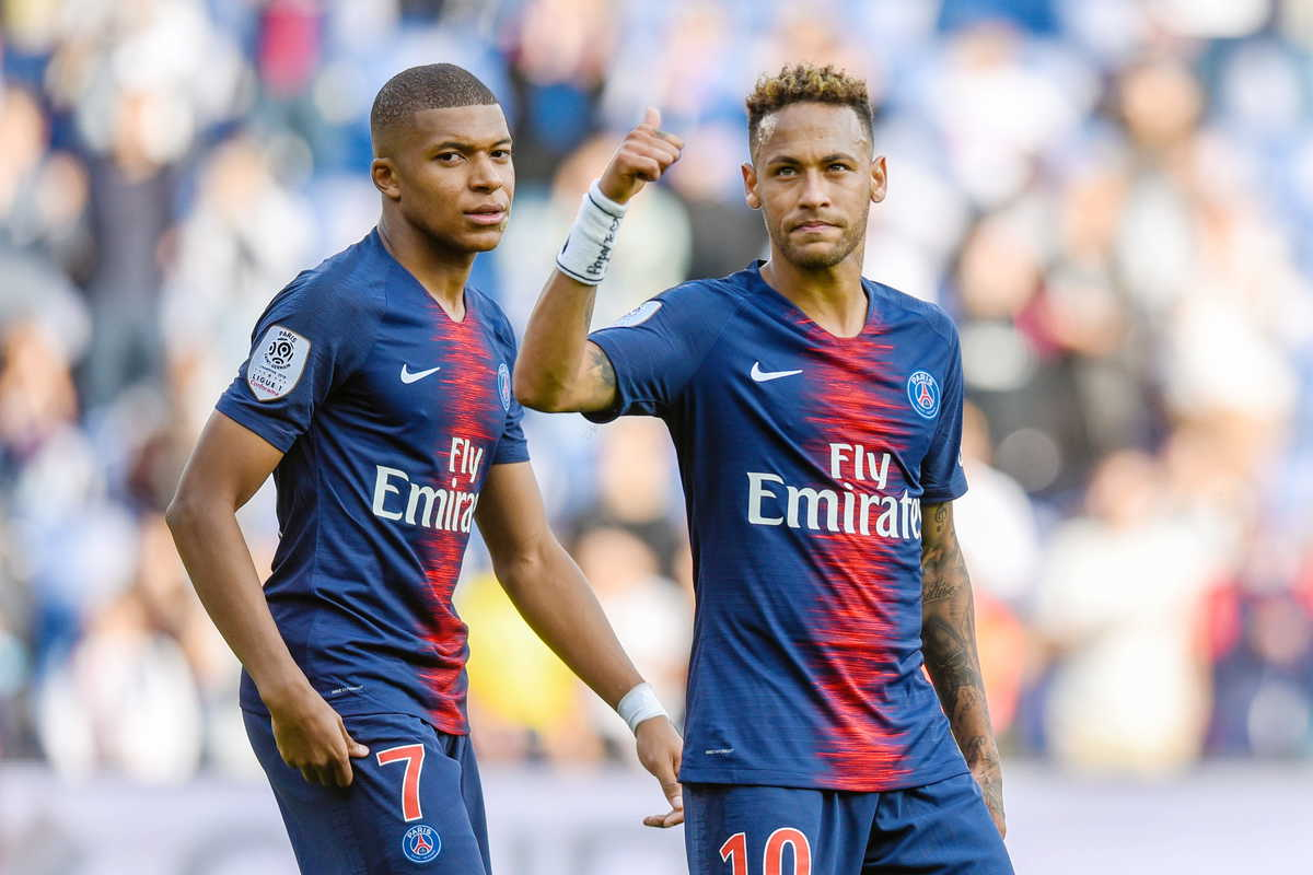 Neymar e Mbappè, attaccanti del Psg