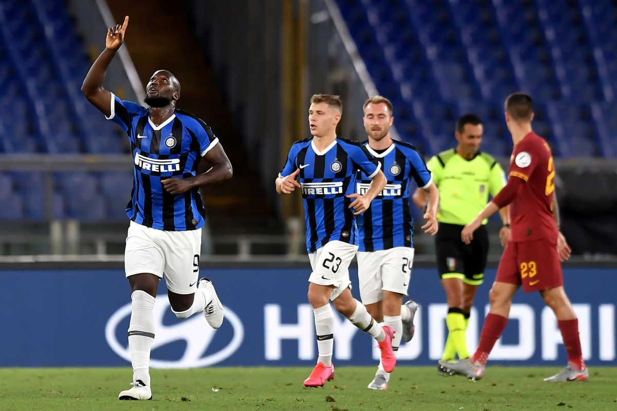 Roma-Inter 2-2, Spinazzola dà, Spinazzola toglie: Lukaku riacciuffa i giallorossi