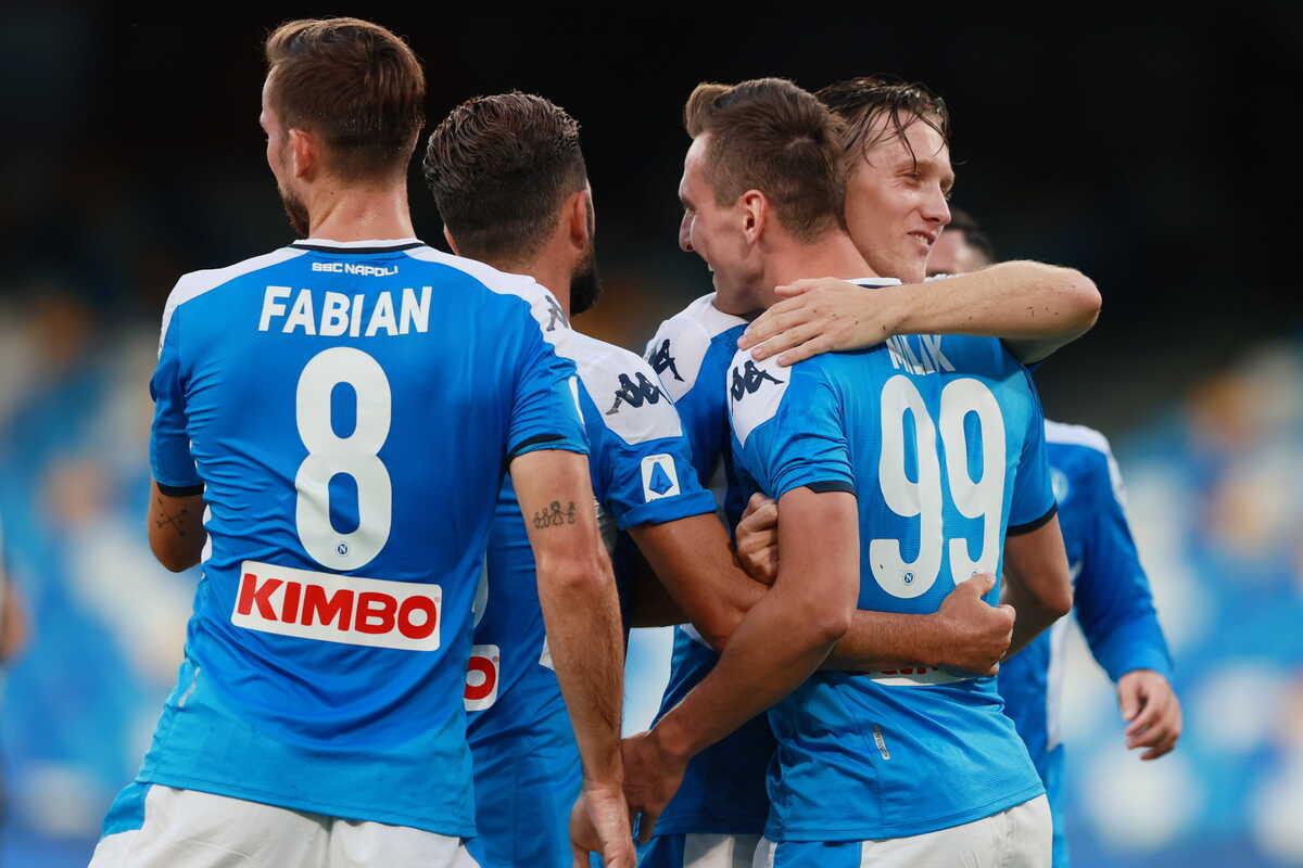 Napoli Udinese 2-1: un gol capolavoro di Politano gela i friulani nel recupero