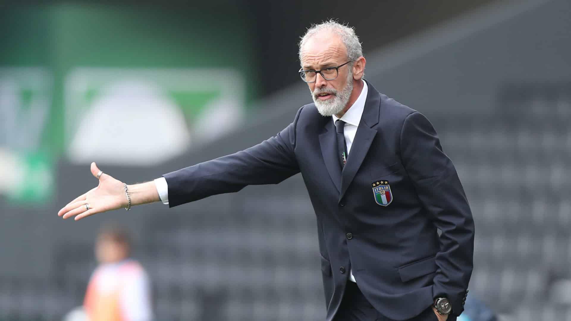 Paolo Nicolato, allenatore dell'Under 21