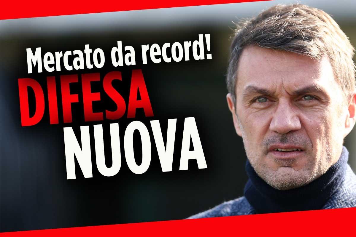 Calciomercato Milan, Maldini blinda la difesa: pronti tre colpi