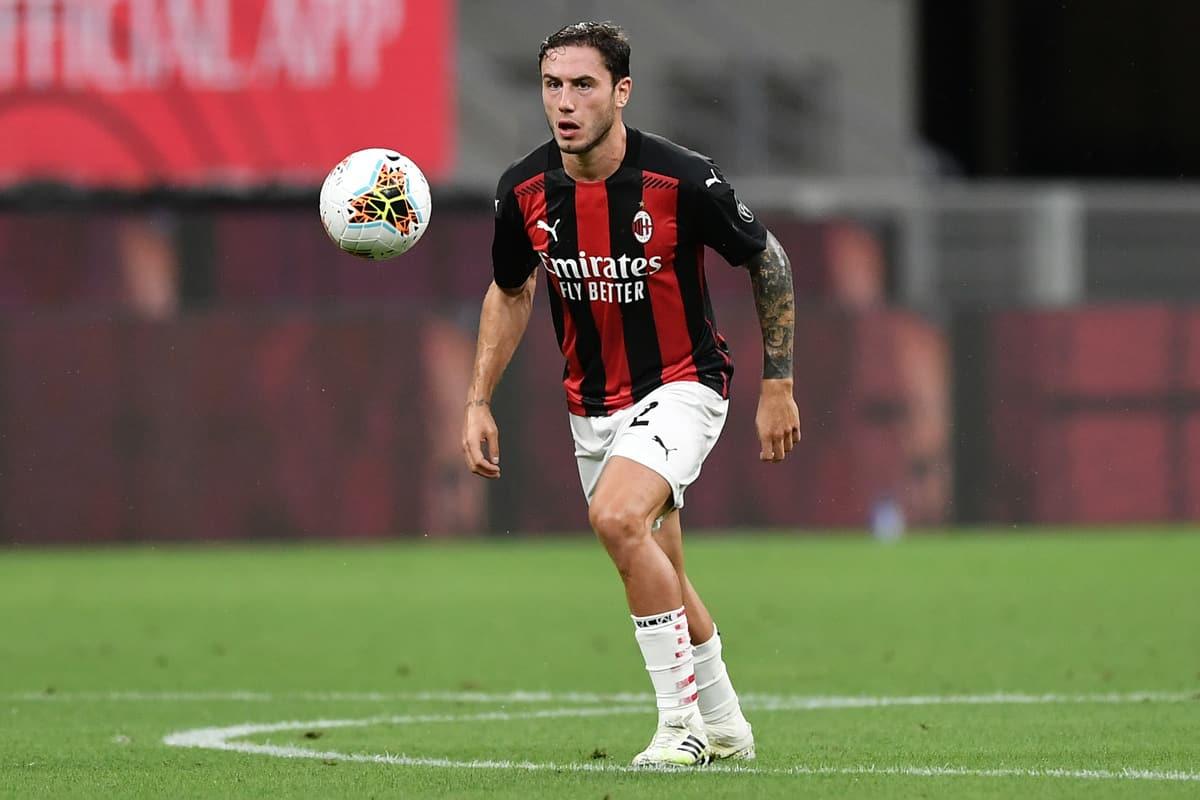 Davide Calabria, difensore del Milan