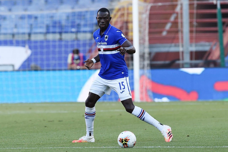 Omar Colley, difensore della Sampdoria @imagephotoagency
