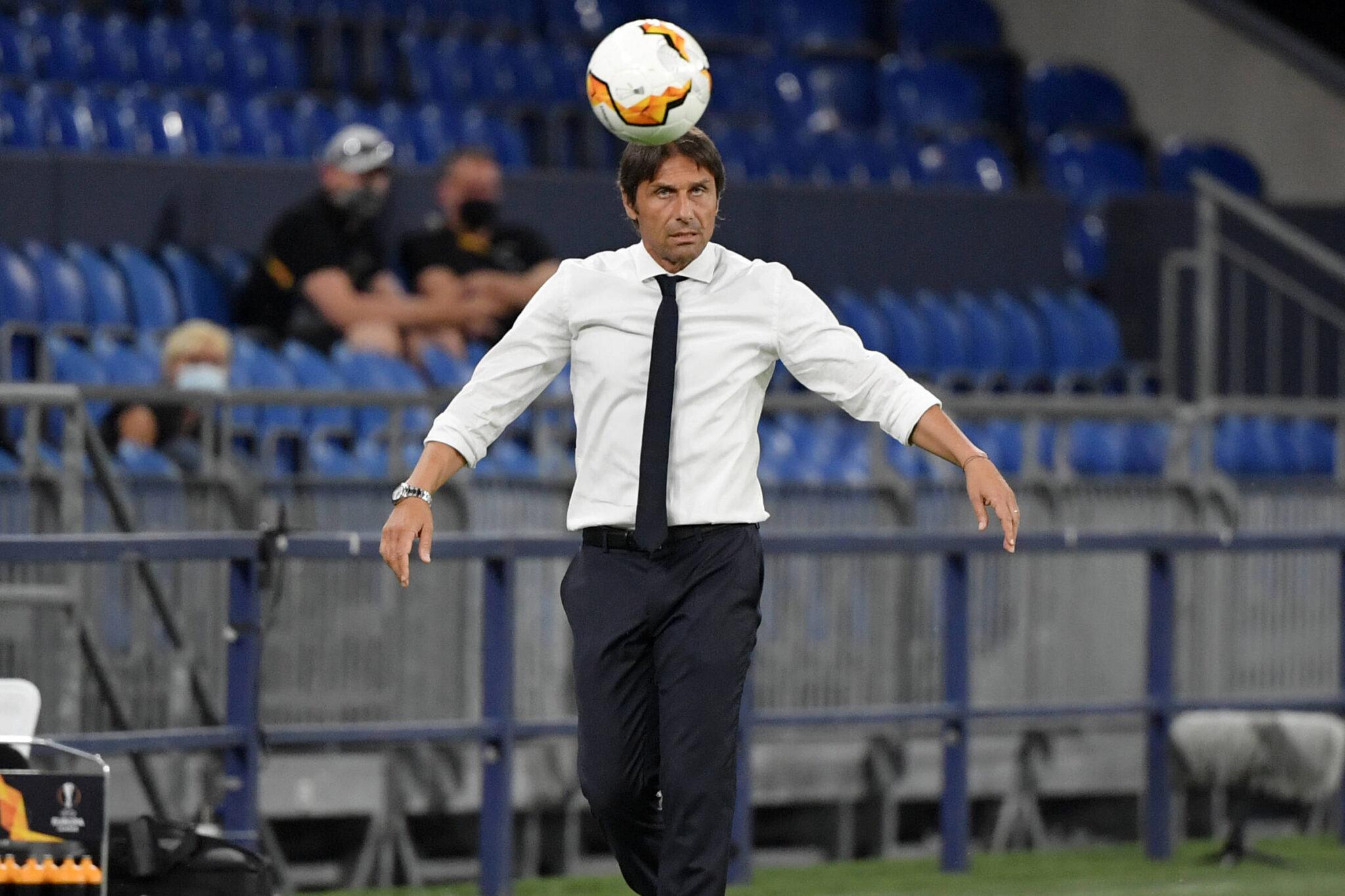 Antonio Conte tecnico dell'Inter