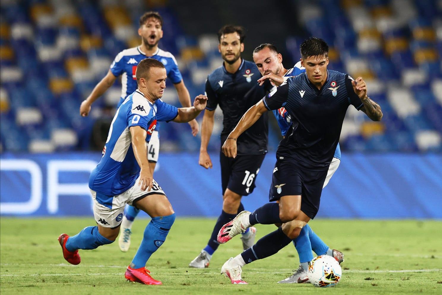 Joaquin Correa attaccante della Lazio