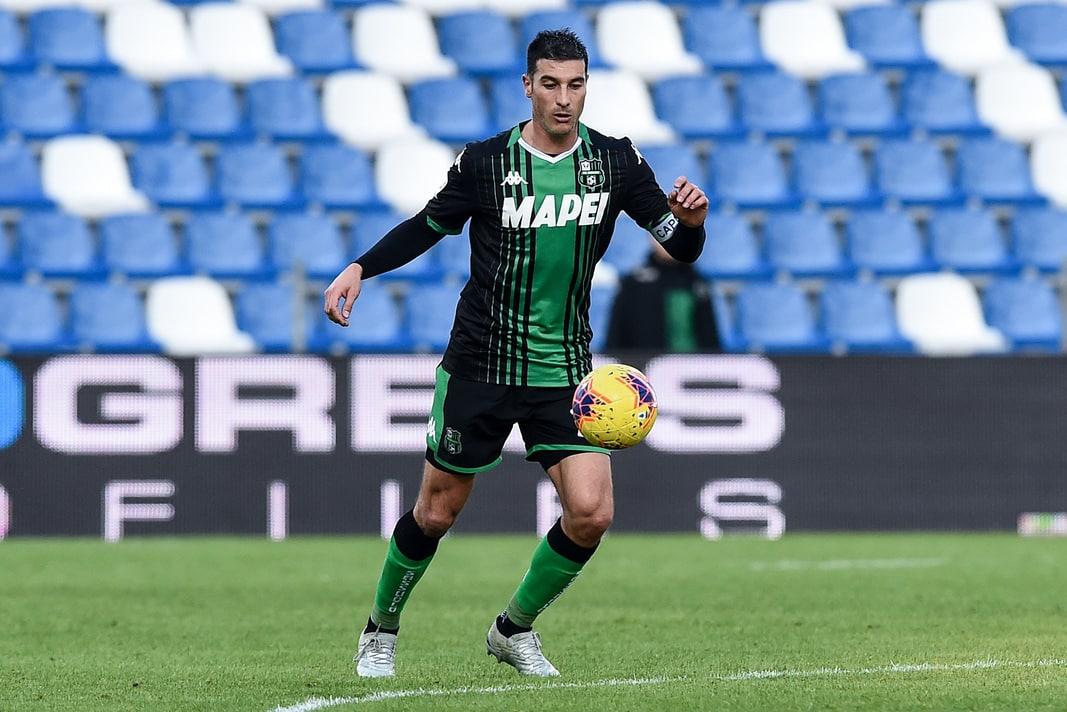 Federico Peluso, giocatore del Sassuolo