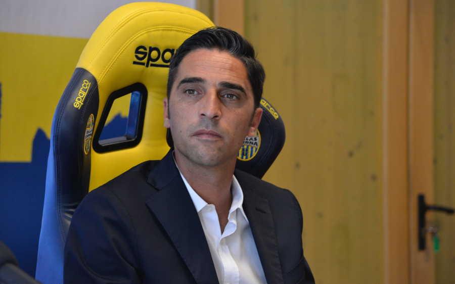 Tony D'Amico, direttore sportivo dell'Hellas Verona