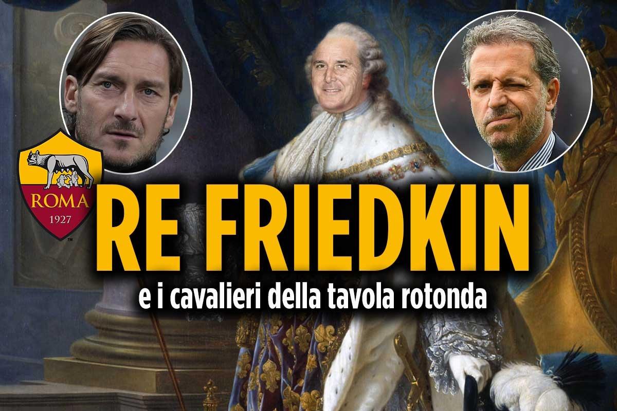 Roma, Friedkin dice addio alla Borsa e punta Totti e Paratici
