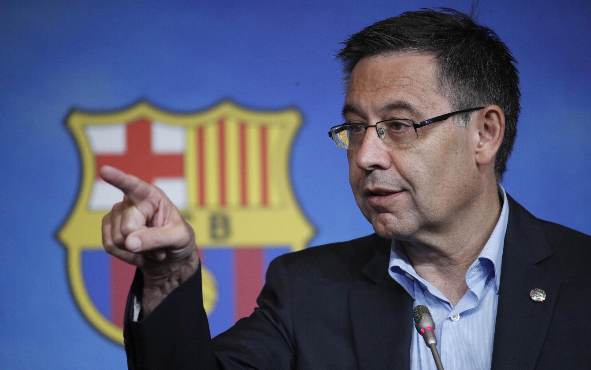 Josep Bartomeu, presidente del Barcellona
